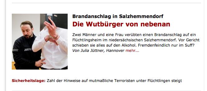 Spiegel Online am 10. Februar 2016
