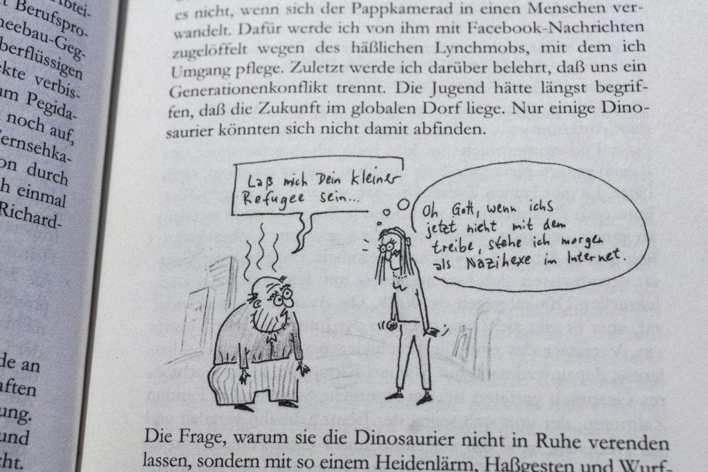 """""""bereichernde ironische Zeichnungen"""""""