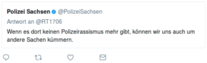 polizeirassismus